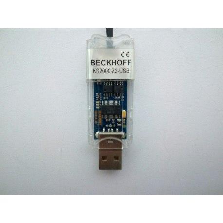 Cable de conexión para KS2000 o TwinCAT Serie a USB