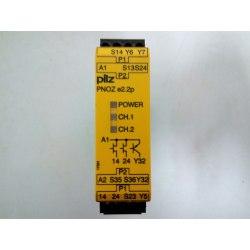 Relé de seguridad pilz 24VDC